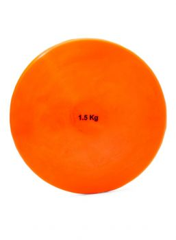 DISCUS VINEX INDOOR PVC WITH RING 1.50 KG ORANGE COLOUR DIS-150 O ORANGE