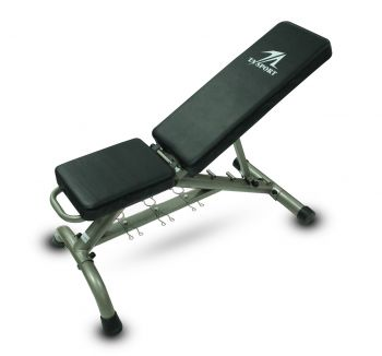SIT UP BENCH SUB4500 BLK/GLD