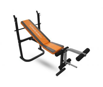 FITNESS WEIGHT BENCH BLK LS1102