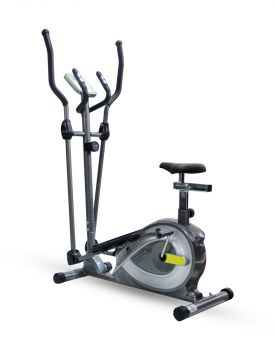 2 IN 1 ELLIPTICAL TRAINER EFIT 381EA W/SEAT DARK G