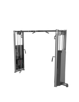 GYM80 CABLE CROSS OVER STATION W CHIN UP BAR CN004004