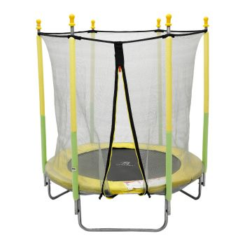 TRAMPOLINE 55 INCH WITH SAFETY NET