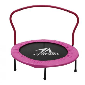 40IN TRAMPOLINE WITH HANDRAIL JKL-40IN P PINK