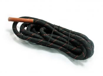 BATTLE ROPE DIA 5CM 15MTR BLACK/YELLOW YEL HANDLE