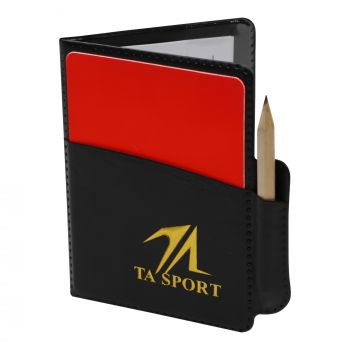 REFEREE CARD 17*12CM WITH NOTE PAD & PEN RM1811B