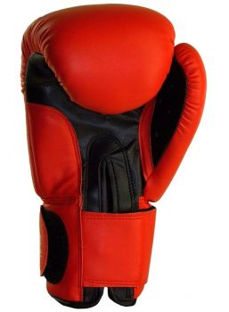 BENLEE LEA. BOXING GLOVES 10 OZ FIGHTER BLACK/RED