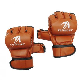MMA GLOVES BQ4101 REUST RED SIZE SMALL&MEDIUM