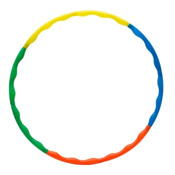 HULA HOOP RING HP2685 PVC BAG WITH COLOR PAPER