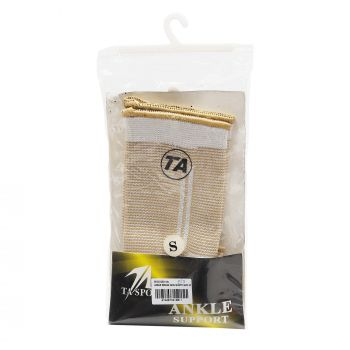 ANKLE BRASS SKIN WHITE SIZE SMALL