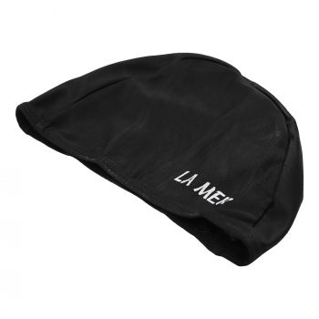 LYCRA CAP LAMER SENIOR NARROW BAND BLK LY01