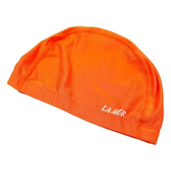 LYCRA CAP LAMER SENIOR WIDE BAND ORANGE LY02