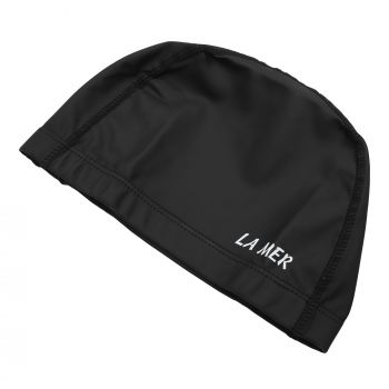 PU CAP LAMER SENIOR WIDE BAND BLACK