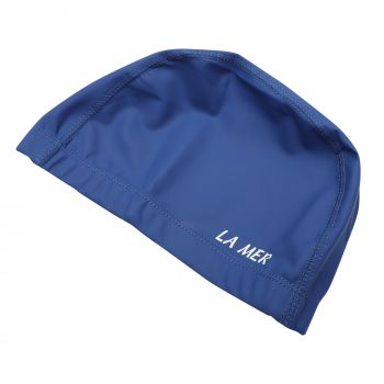 PU CAP LAMER SENIOR WIDE BAND ROYAL BLUE