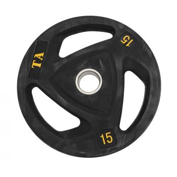 TPU OLYMPIC WEIGHT PLATE 15KG SJ-1014
